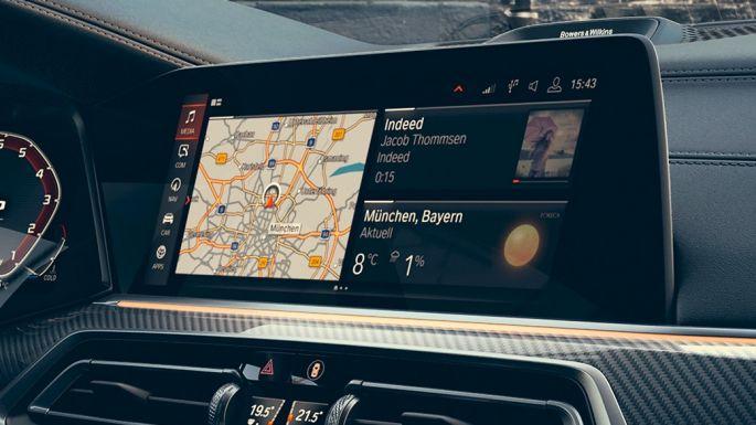 BMW X6, кокпит с дисплеями диагональю 12,3 дюйма