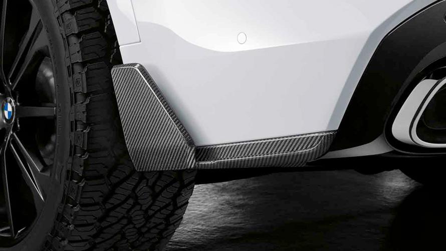 Карбоновый винглет, задний для BMW X5 (G05), пакет M Performance.